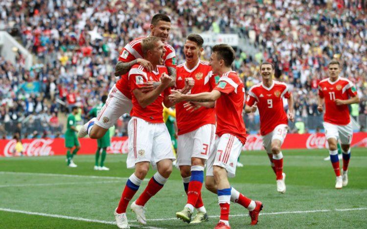 La Russie lance sa Coupe du Monde avec brio contre l'Arabie Saoudite