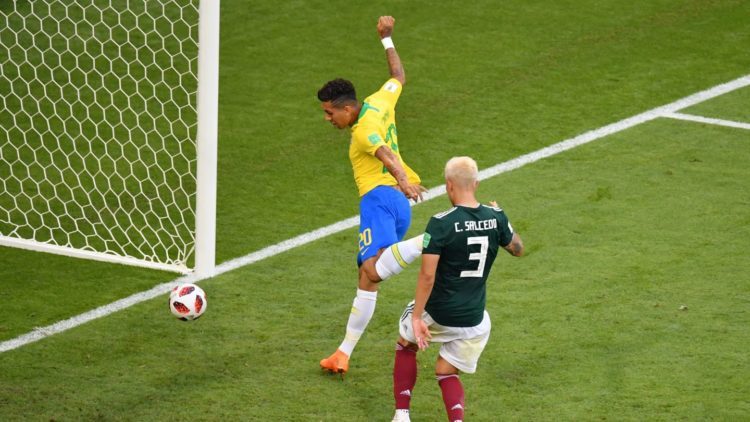 Firmino - Brésil vs Mexique