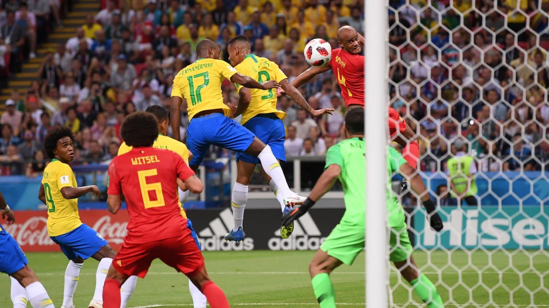 mondial 2018  match br u00e9sil vs belgique