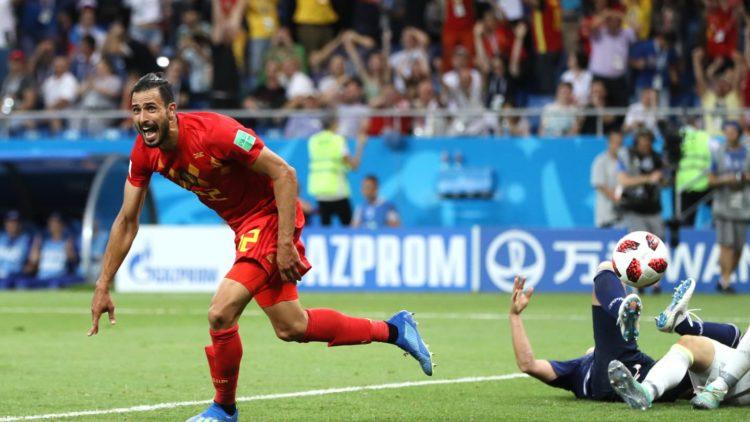Nacer Chadli - Belgique vs Japon