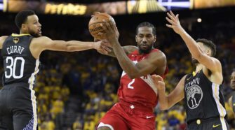 Toronto Raptors remporte le championnat américain de NBA face au Golden State Warriors