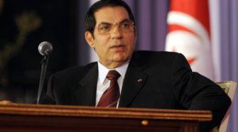 Décès de l'ex-président tunisien Zine El Abidine Ben Ali